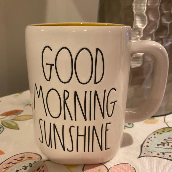 2/$26 Rae Dunn Mug Good Morning Sunshine
